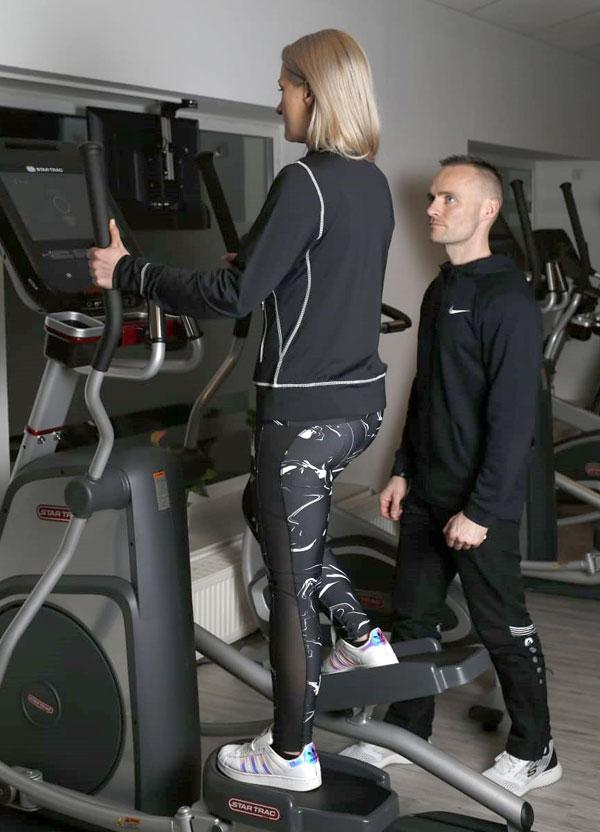 Herz-Kreislauf Training im PASSION Sport's Nossen